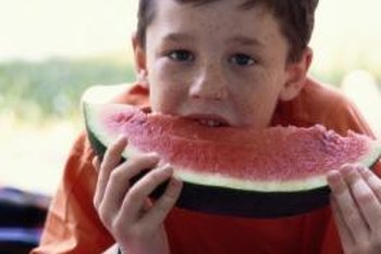 Kids will find watermelons more satisfying if they grow their own fruit.