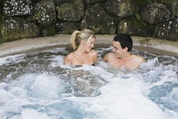 Hot tubs are a luxury add-on for homes.