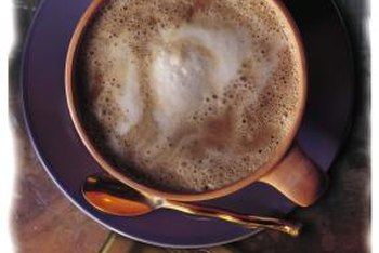 Use vanilla soy milk in your lattes as a source of calcium and vitamin B-12.