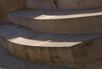 Cement steps were built to last, making them a difficult to remove.