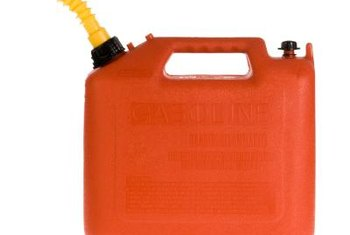 Always mix fuel in a clean container approved for gasoline, and label the container for fuel storage.