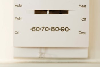 Verify the fan is set to work at the thermostat before troubleshooting other problems.