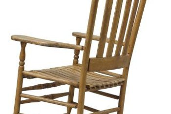 Rocking chairs can often benefit from a bit of cushioning.