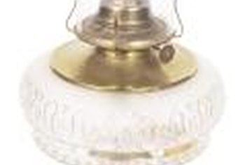 Hurricane lamps are fueled by a liquid oil, typically kerosene or parrafin.