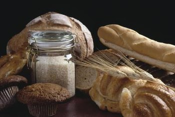 Choose brown rice and whole-grain bread over white rice and white bread.