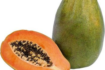Red Maradol papayas have a spicy, edible seed.