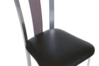 One new piece of vinyl can give a chair an entirely new look.
