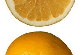 """Oro Blanco"" grapefruits are white grapefruits, meaning the interior fruit is golden yellow, not pink."
