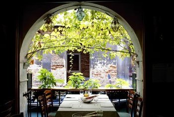 Italian bistro style is warm and inviting.