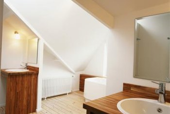 An attic bathroom remodel can add value to your home.