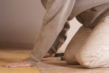 Including acclimation time, give yourself about five days to install laminate flooring.