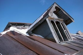 Make the inside of your dormer window as eye-catching as the outside view.