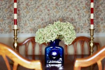 Dry your hydrangea blossoms for year-round indoor beauty.