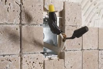 Even mosaic tiles need to be cut to fit the backsplash area.