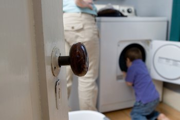 Leaving wet clothes in the dryer too long can cause a moldy smell.