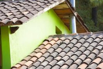 A fresh coat of paint will keep your roof tiles looking good.