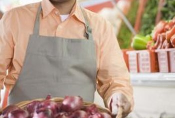 Large onions can weight as much as 2 pounds each.