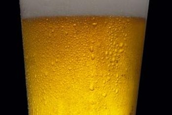 Beer contains compounds that may lower blood cholesterol.