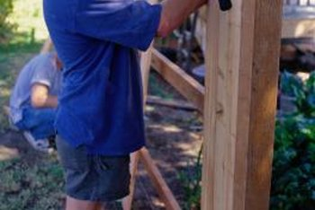 A nail gun is more appropriate for fencing than a brad nailer.