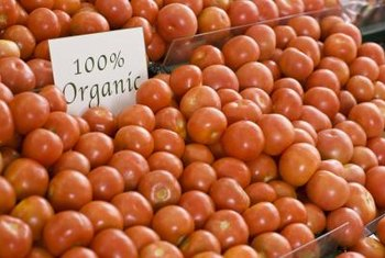 Organic plants are subject to much of the same quality standards as organic food in supermarkets.