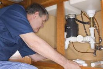 Leaking P-traps can damage the floor or the sink cabinet.