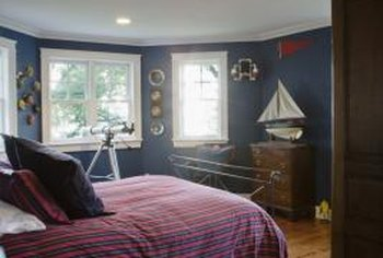 How to Paint a Nautical Themed Bedroom | Home Guides | SF Gate