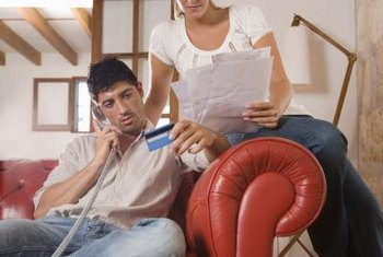 Your husband's bad credit can prevent you from getting a home loan.