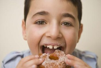 Limit your child's intake of added sugar.