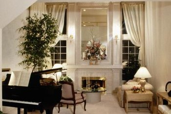 Grand pianos come in a range of colors and finishes to suit any decor.