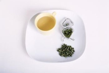 Antioxidants in green tea may help prevent some forms of cancer.