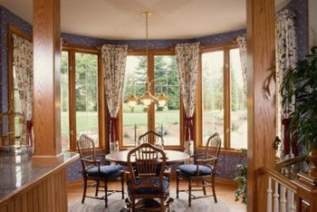 How to Decide on a Window Treatment for a Dining Room | Home ...