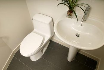Consider knee space from the toilet to the wall for tall guests.