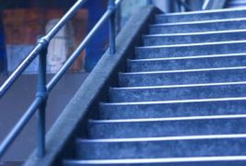 Lights installed near outdoor stairs make them safe.
