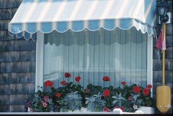 Awnings can be used inside too.