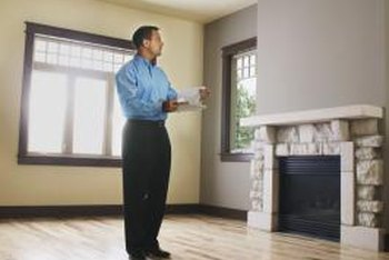 A house appraisal always starts with an appraiser's inspection.
