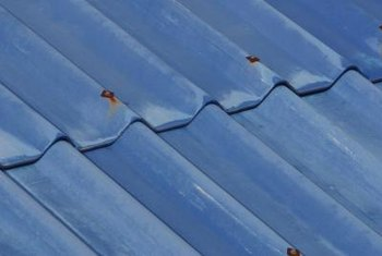 Filler strips match the grooves in a tin roof.