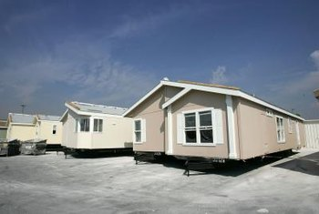 Mobile homes can be affixed to concrete and even wood foundations.