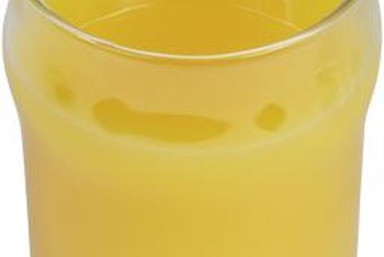 Orange juice made with the peel is full of vitamins and minerals.