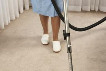 The surface of your carpet may look clean, but dust and dirt still could be trapped deep in the fibers.