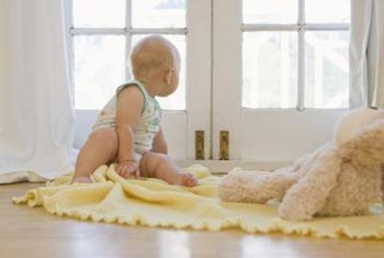 Protect infants from glass injuries or accidental falls with window safety devices.