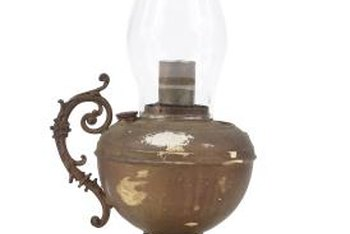 Lamp oil is an easy alternative to electricity.