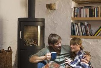 A pellet stove is an energy-efficient alternative for heating your home.