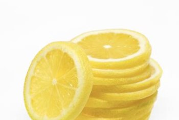 Meyer lemons are thought to be a cross between lemons and Mandarin oranges.