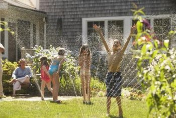 Create a vegetable garden irrigation sprinkler or some family fun in a few hours.