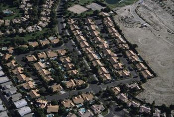 Some homes in Palm Springs sit on leased land.