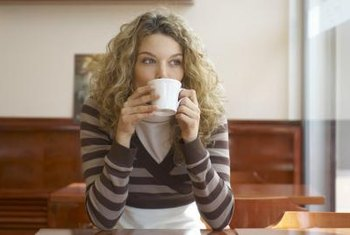 Three 8-ounce cups of coffee per day is considered a moderate and safe amount of caffeine.