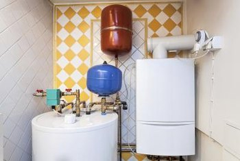 A water heater closet should be sealed off from the rest of the house.
