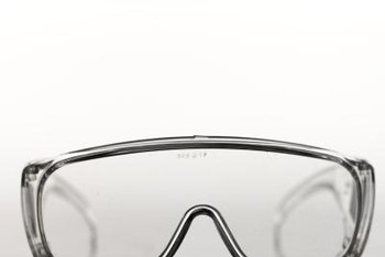 Protect your eyes with durable safety glasses.