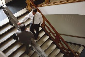 Hallways and stairwells can be more than a place to commute.