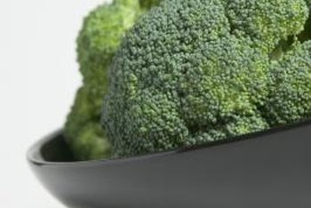 Pests make gathering healthy broccoli heads a challenge.